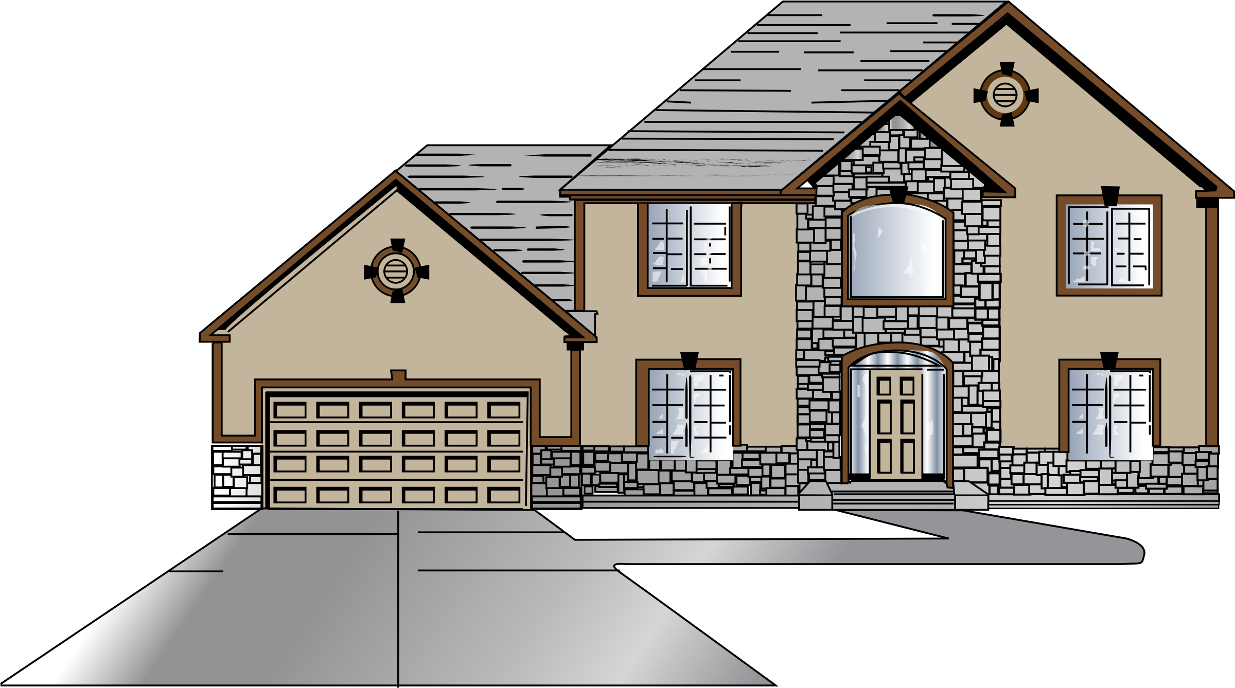 House Design Clipart - Clipart Kid