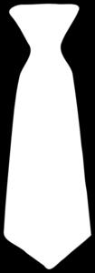 Plain White Tie Clip Art At Clker Com   Vector Clip Art Online