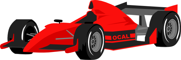 Race Car Clip Art   Images   Free For Commercial Use