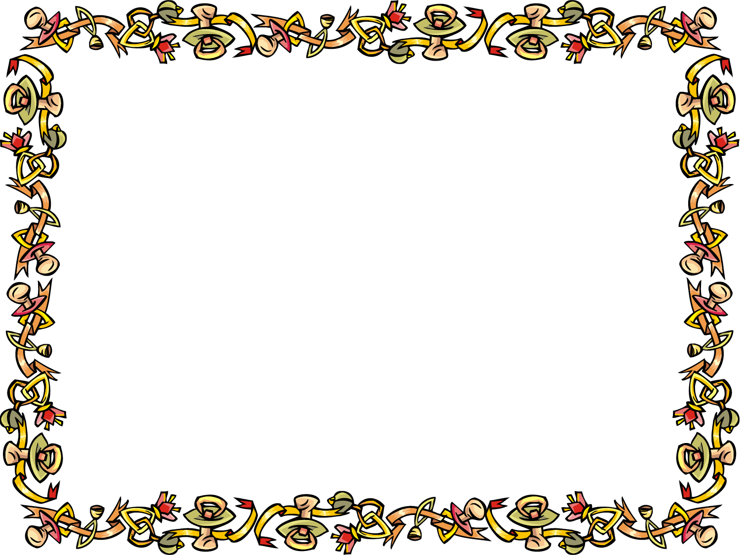Template   Ribbon Certificate Border   Clipart Best   Clipart Best