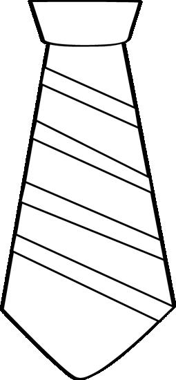 Tie Clipart Black And White Black And White Striped Tie