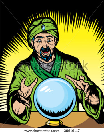 Vintage Fortune Teller Clipart Fortune Teller Looking Into
