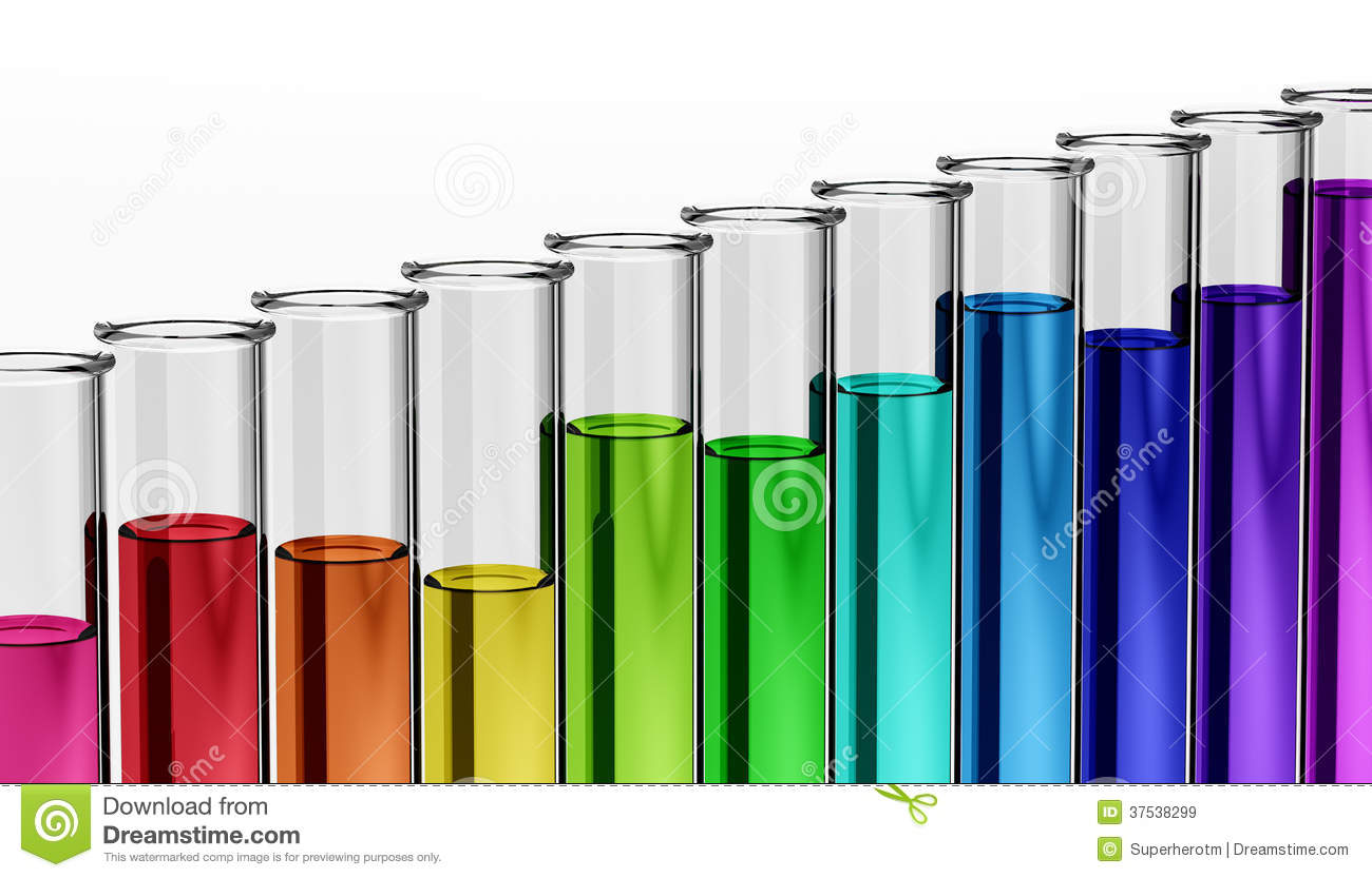 Science Test Tubes Rainbow Clipart - Clipart Suggest