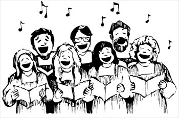 Choir Clipart Jpg   Bishop Mccort Catholic