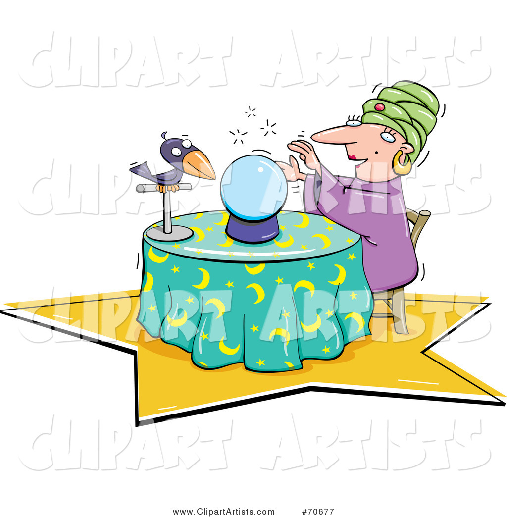 Fortune Teller Clipart Featured By Jtoons Picture