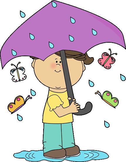 Cute Spring Rain Clipart - Clipart Kid