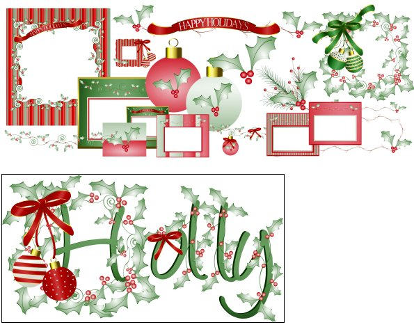 Graphics And Psp Tubes From J Rett  Elegant Collection Christmas