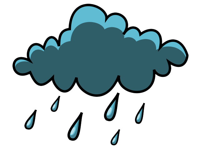 Rain Clip Art   Images   Free For Commercial Use