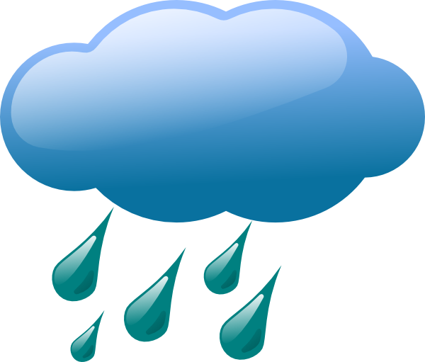 Rain Cloud Clip Art At Clker Com   Vector Clip Art Online Royalty