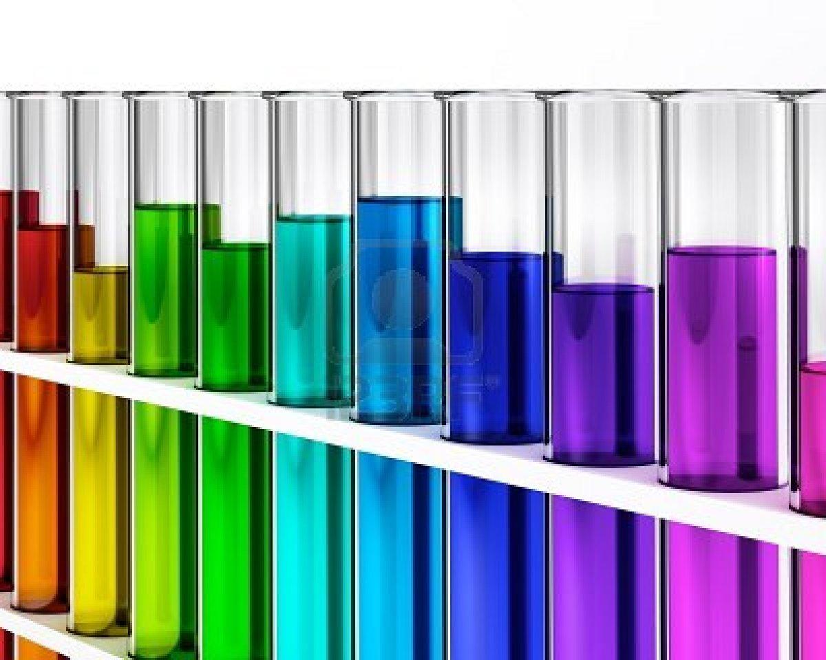Science Test Tubes Rainbow Clipart - Clipart Kid