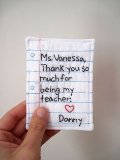Sewing Gifts For Teachers On Pinterest   Coffee Cozy Teacher Gifts