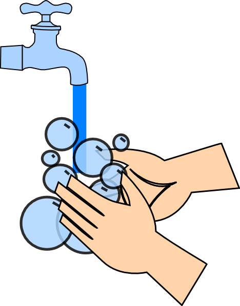 Clip Art Washing Hands Clip Art washing hands clipart kid clip art at clker com vector online royalty