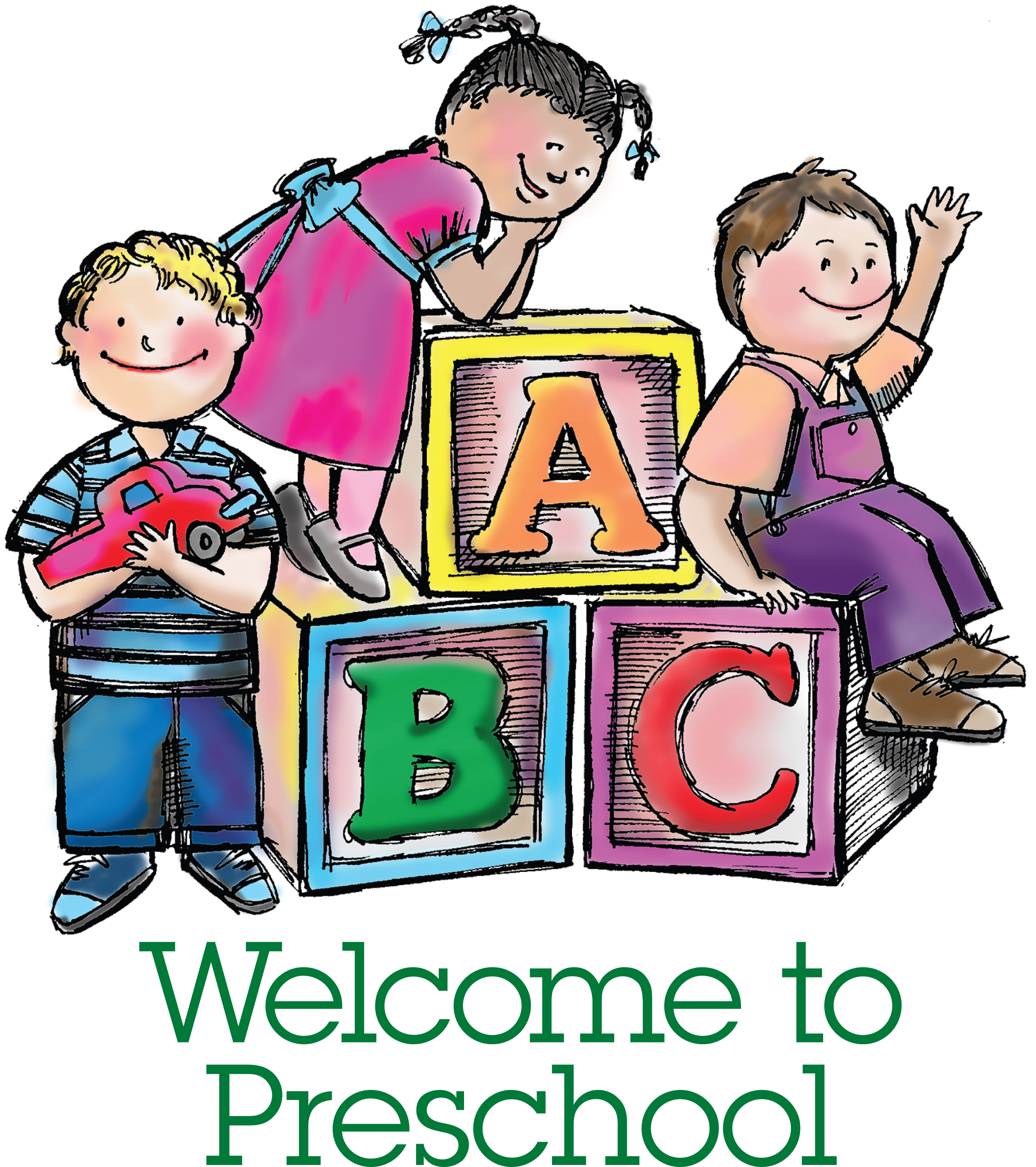 Welcome To Preschool Clipart   Clipart Panda   Free Clipart Images