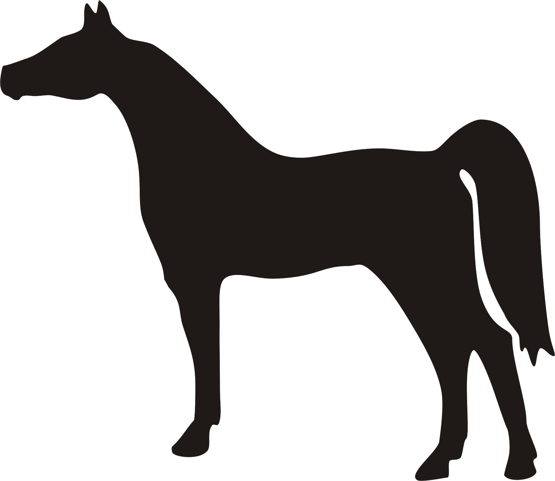 20 Horse Silhouette Free Cliparts That You Can Download To You
