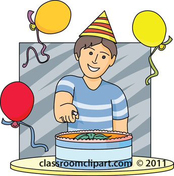 Boy Birthday Cake Clipart - Clipart Suggest