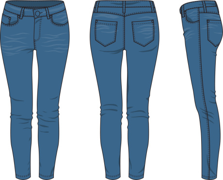 Clip Art Jeans Denim Clipart - Clipart Suggest