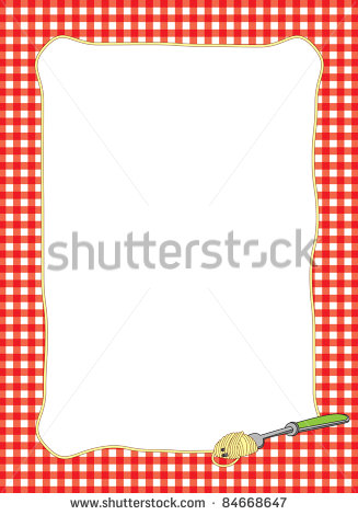 Breakfast Clipart Border Bright Border Of A Fork #qRiSZF ...
