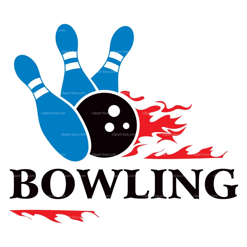 Clipart Bowling Icon   Royalty Free Vector Design