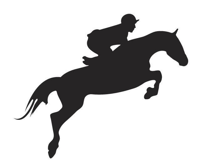 Jumper Horse Clipart - Clipart Kid