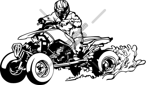 Clipart Vector Art Of  Motorx19