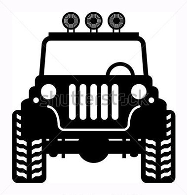 File Browse   Transportation   Off Road Vehicle Vector Illustration