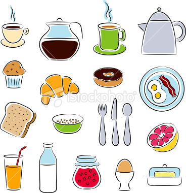 Breakfast Border Clipart - Clipart Kid