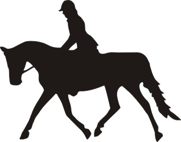 Jumper English Horse Clipart - Clipart Suggest