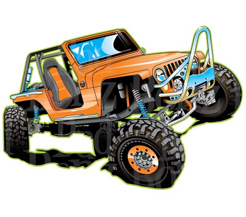Rock Crawler Art : Jeep off road clipart suggest