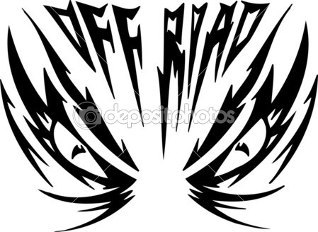 Off Road Symbol    Stock Photo   Digital Clipart  5014698
