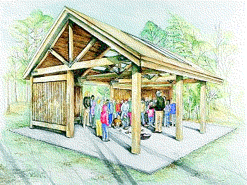 Picnic Shelter   Http   Www Wpclipart Com Recreation At The Park