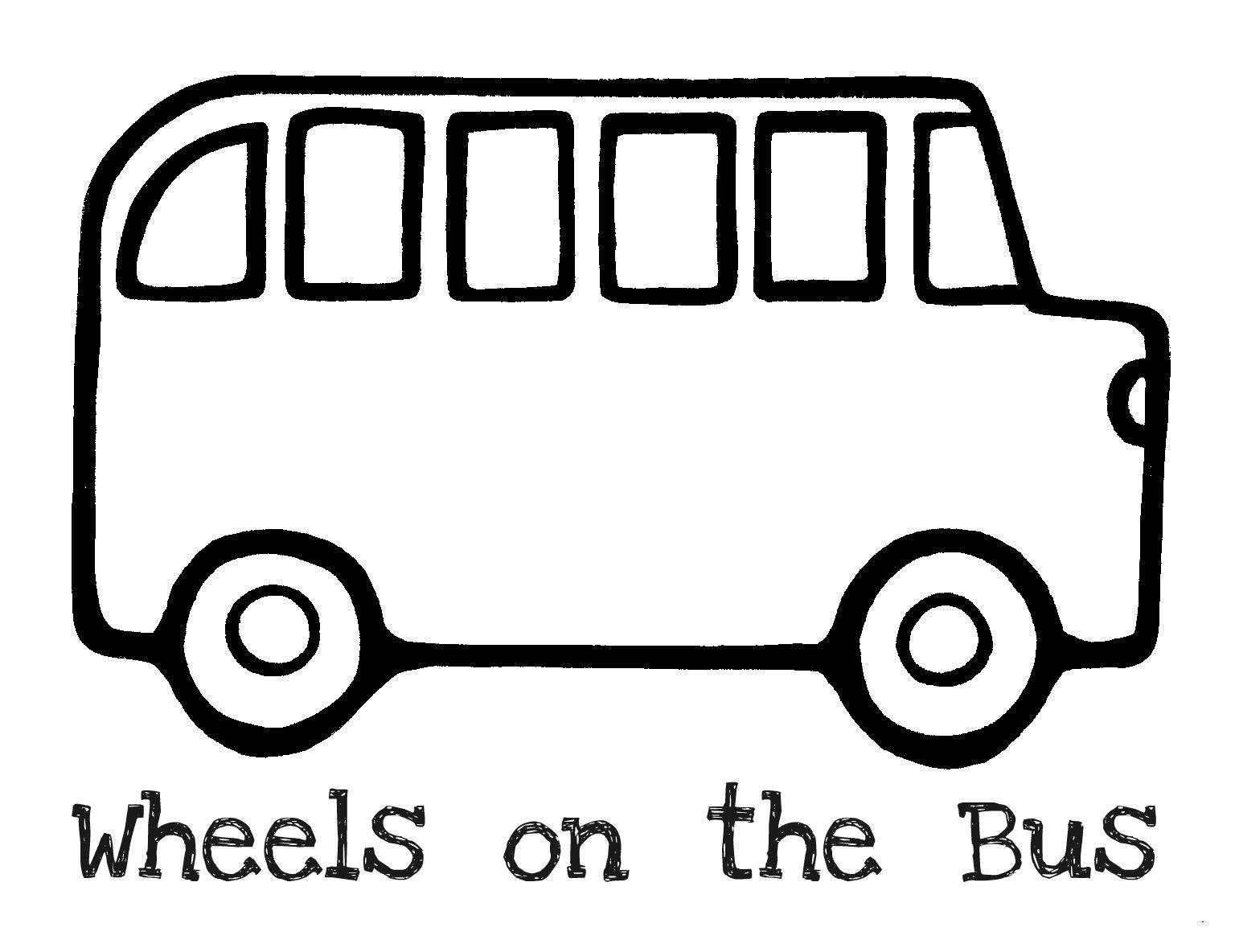 Clip Art Bus Clipart Black And White bus school outline clipart kid plain