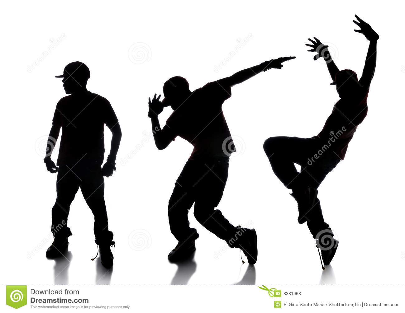 Sequence Of Hip Hop Dancer Royalty Free Stock Photos   Image  8381968