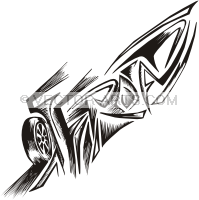 Vector Clip Art Design  Vinyl Ready   Off Road Graffito