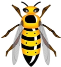 Wasp 16c Wasp 16c Wasp Wasp Wasp Clip Art Wasp Clip Art Flying Wasp