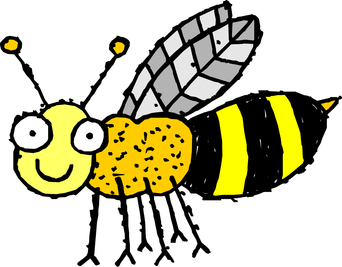 Wasp Clipart Bee Wasp Tattoo 2 1331px Png