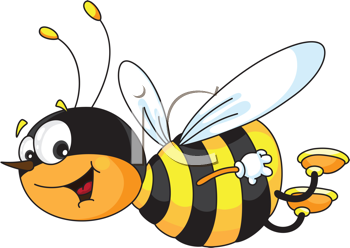 Wasp Clipart Cheerful Bee Tnb Png