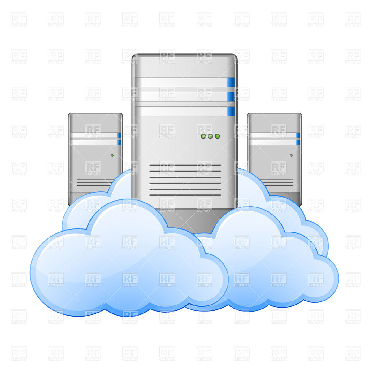 Cloud Computing Concept   Datacenter 5567 Download Royalty Free