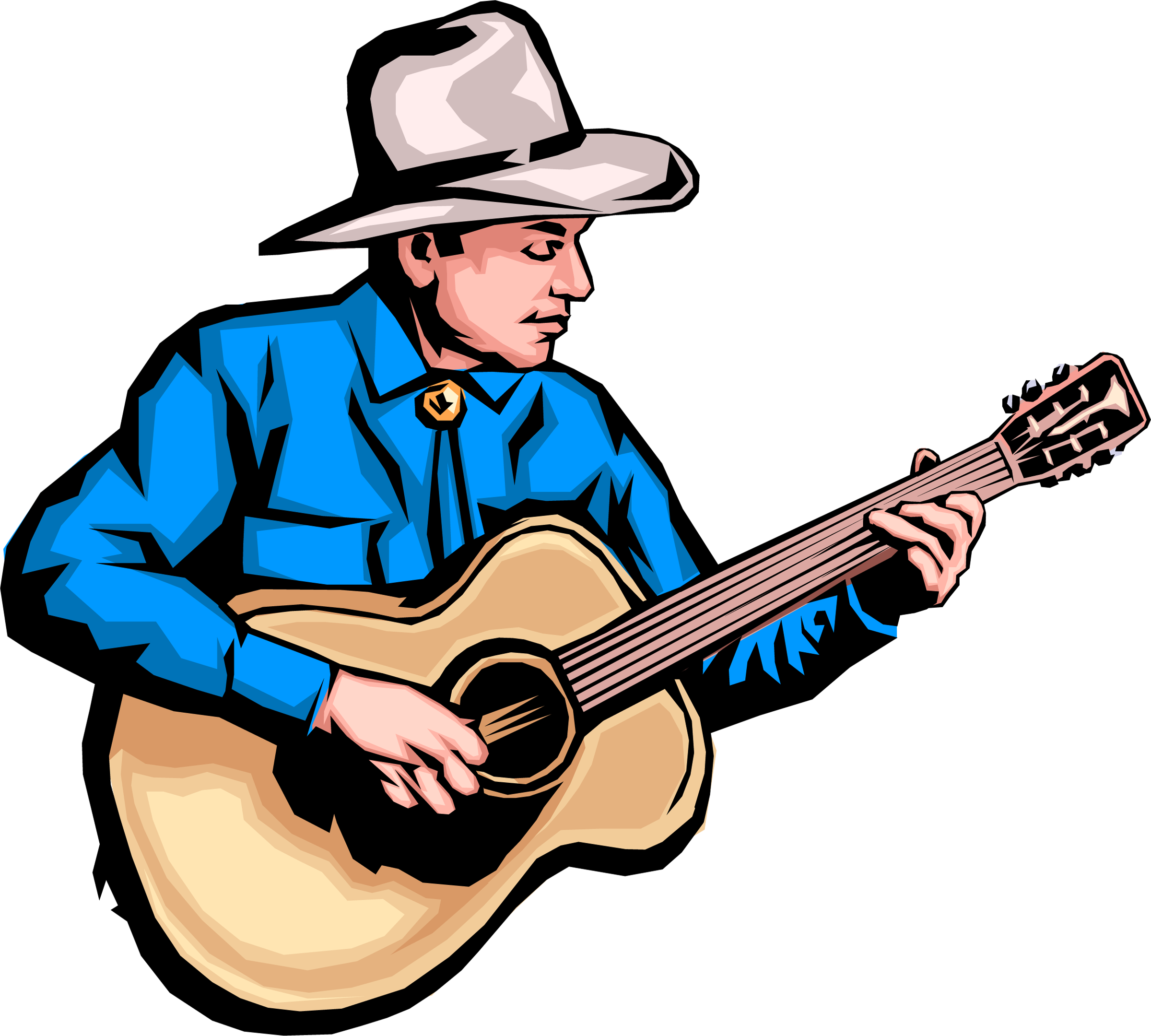 Country Music Guitar   Clipart Panda   Free Clipart Images