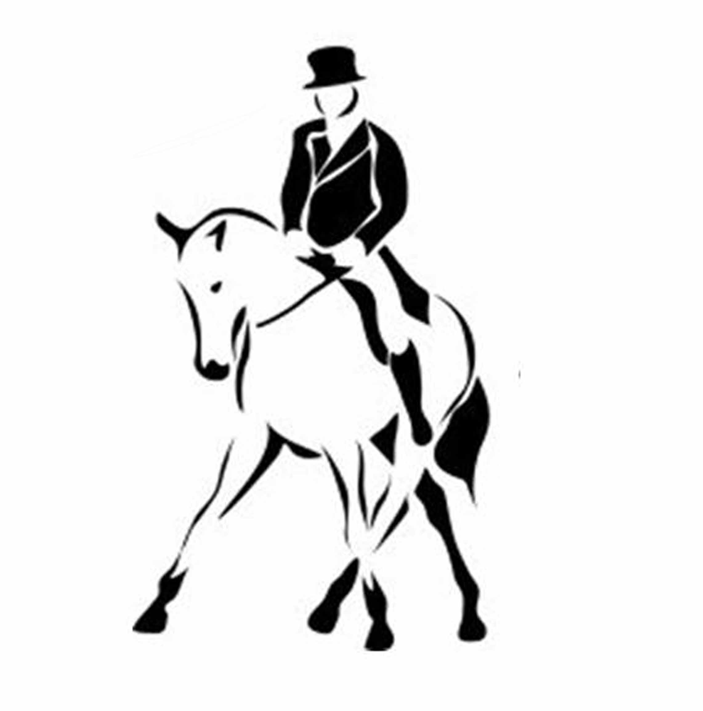 clip art dressage horse - photo #3