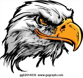 Falcon Football Clipart Clipart Graphic