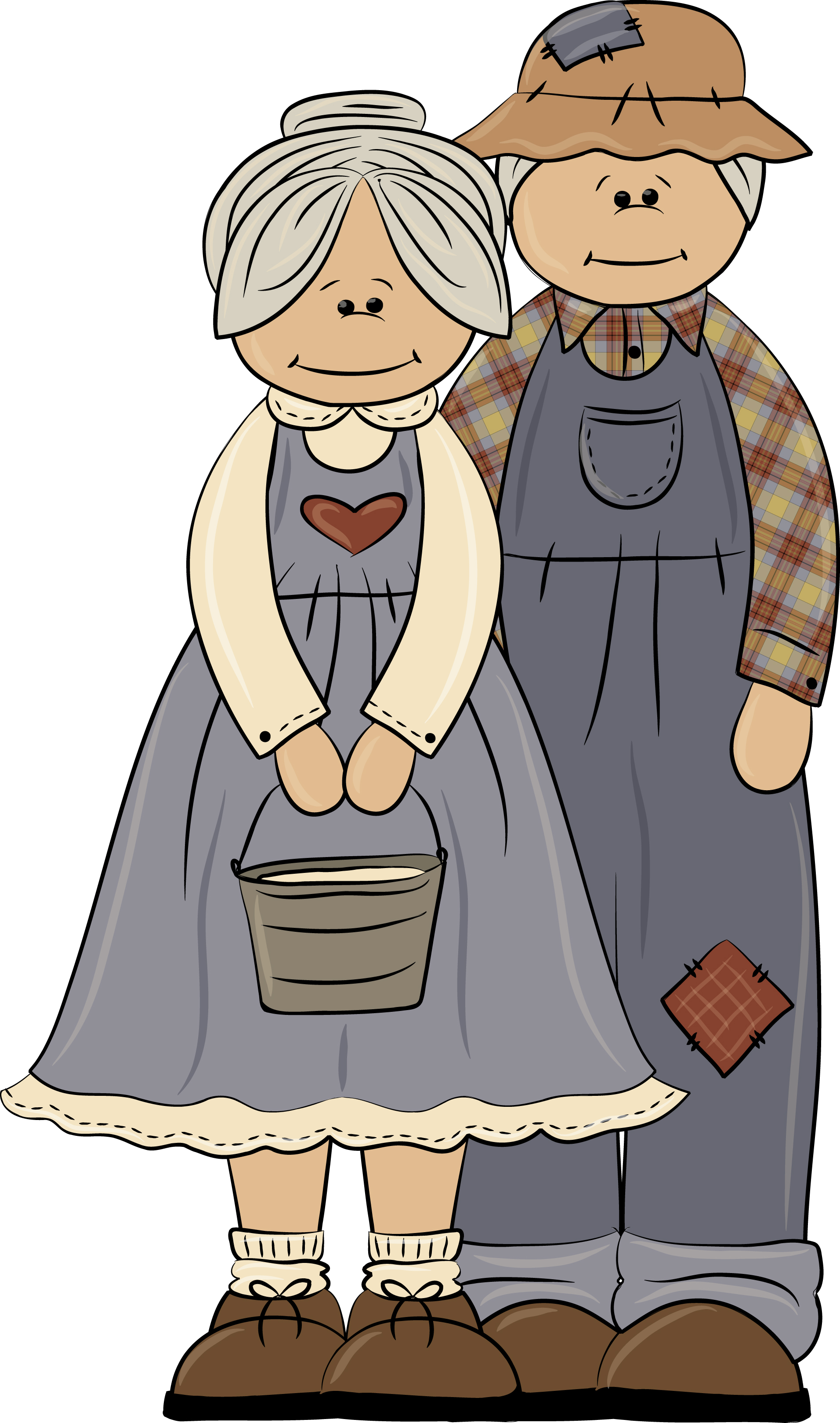 Heres Some Cute Country Grandparents Clipart To Use As National