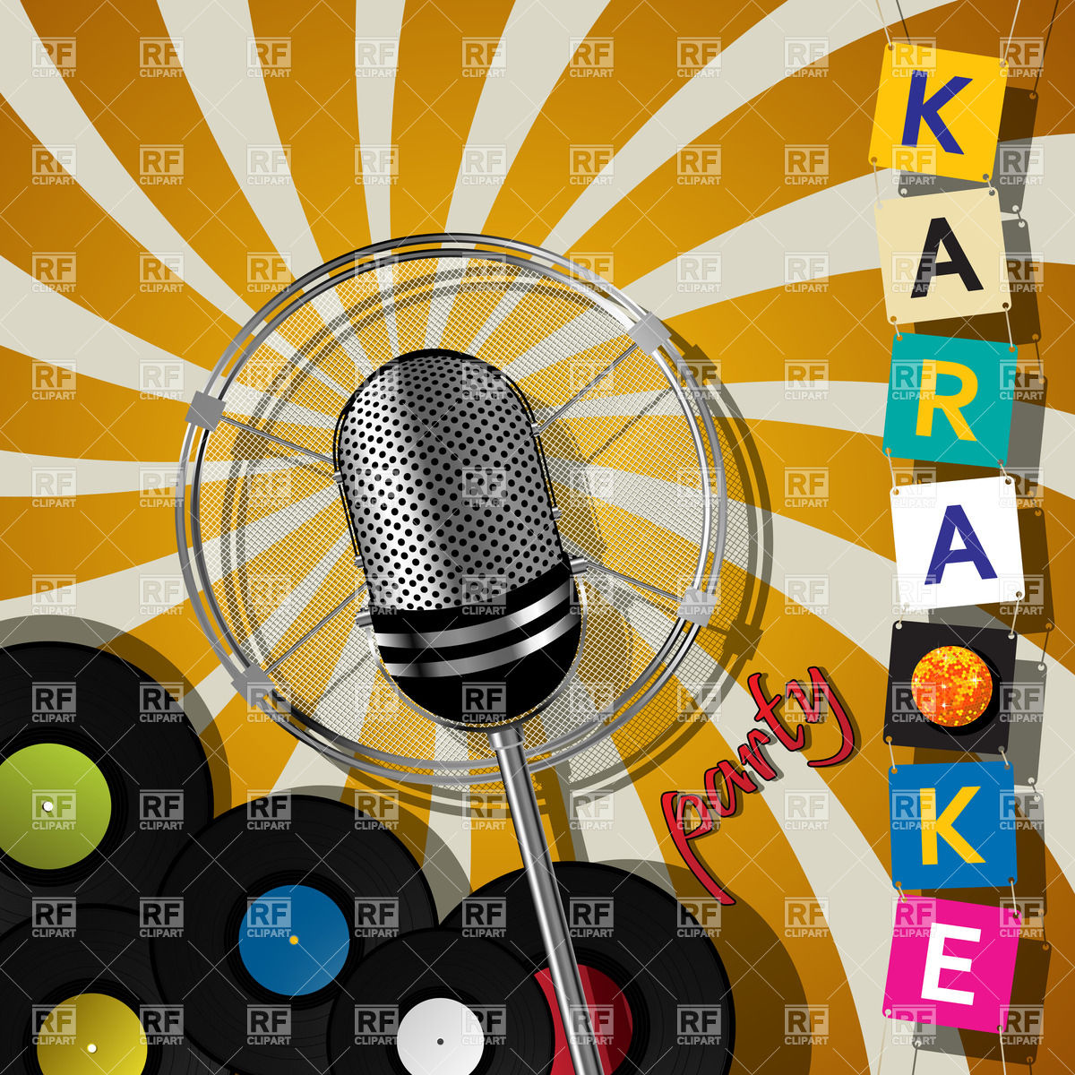 Karaoke Events 20919 Objects Download Royalty Free Vector Clipart