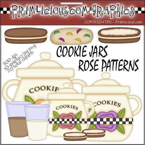 Sets   Primlicious Graphics   Cute Cookie Jar Clipart Collection One