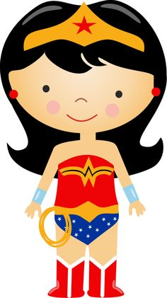 Clip Art Wonder Woman Clipart wonder woman cute clipart kid on pinterest party and woman