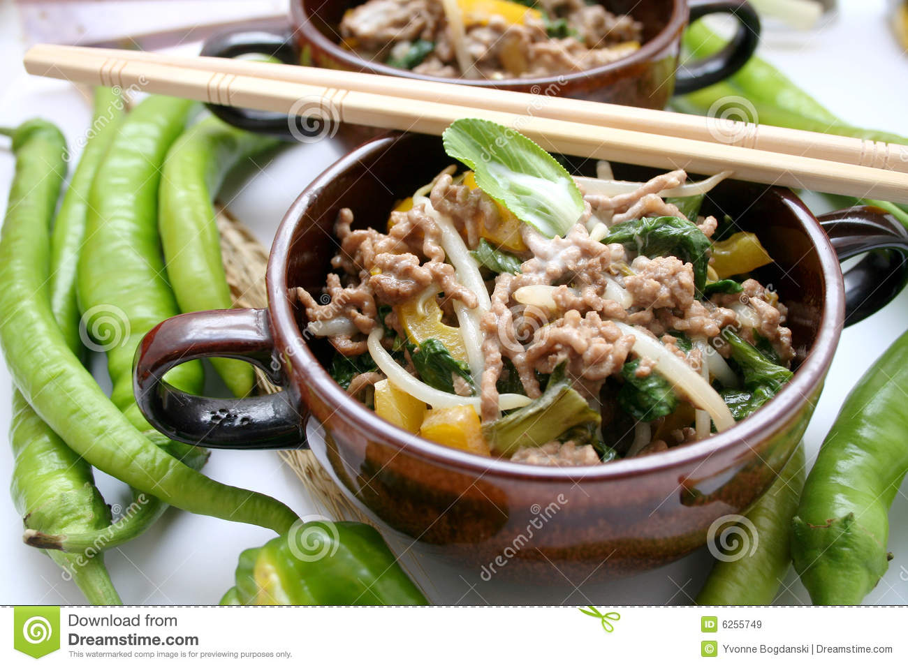 Asian Food Royalty Free Stock Images   Image  6255749