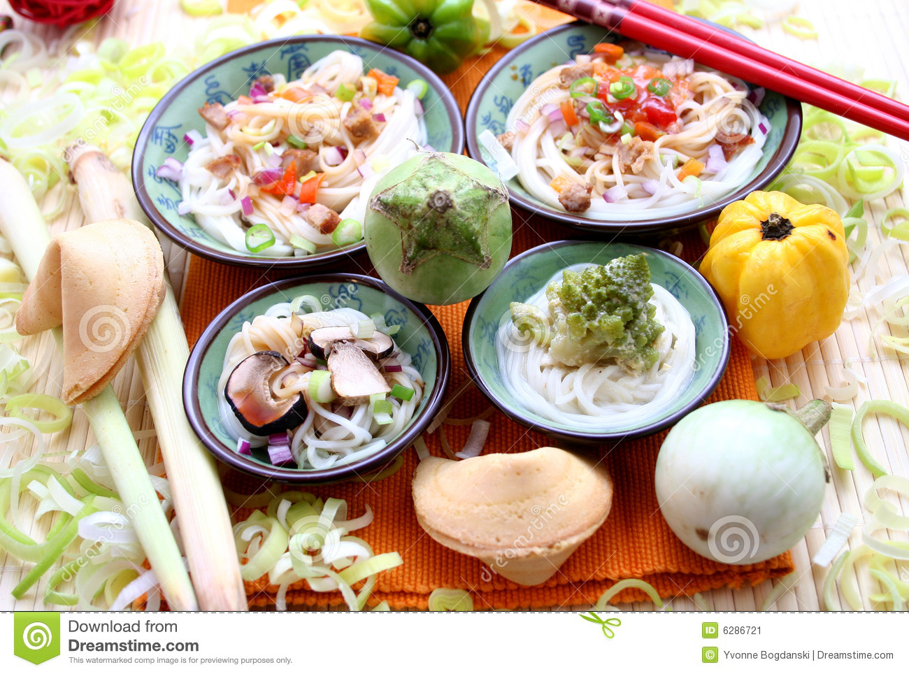 Asian Food Stock Image   Image  6286721
