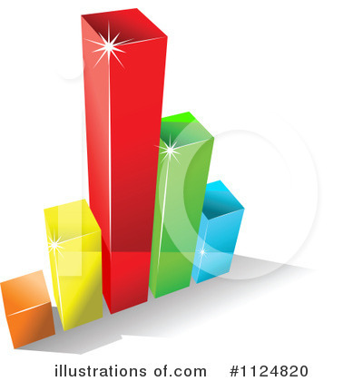 Bar Graph Clipart  1124820 By Seamartini Graphics   Royalty Free  Rf