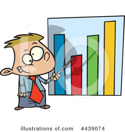 Bar Graph Clipart  439074 By Ron Leishman   Royalty Free  Rf  Stock