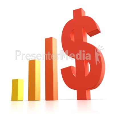 Bar Graph Dollar Sign   Business And Finance   Great Clipart For