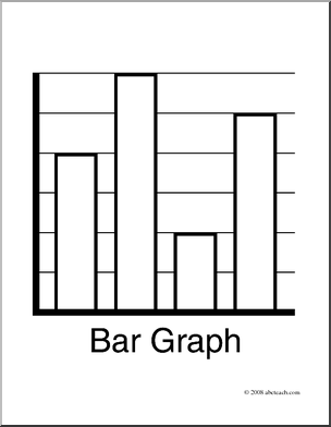 Clip Art  Graphing  Bar Graph  Coloring Page    Preview 1